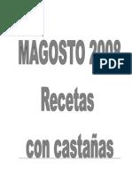 LIBRO DE RECETAS DE MAGOSTO