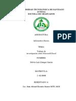 Trabajo de investigación sobre Microsoft Excel (1)