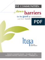LTQA - Innovative Communities Report