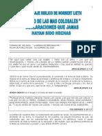CINCO COLOSALES DECLARACIONES QUE JAMAS FUERON HECHAS