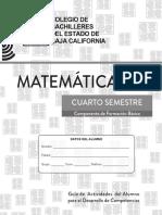 Matemáticas IV 2020