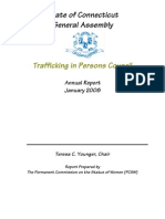 Connecticut 2008 Trafficking Annual Report
