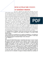 Ps 135 Les Divines Miseмѓricordes