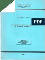 """I. Puscas & I. Popovici - Din Istoricul Institutului de Credit Si Economii """"Bihoreana"""""""