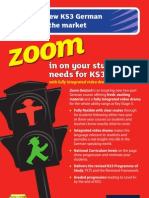 KS3 Zoom Deutsch Course Guide