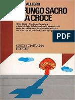 John Allegro - Il Fungo Sacro e La Croce - PDF Reimpaginato