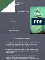 DIU Sénologie 18 Mars 2015 9 Mo 2