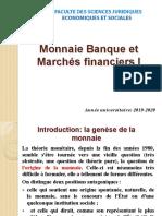 Monnaie Bq Marche Fin Master 20192020