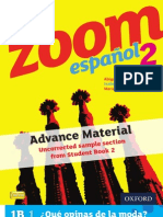 KS3 Zoom español Student Book 2 sample