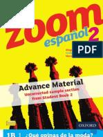 KS3 Zoom español Student Book 2 sample