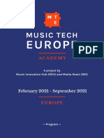 Music Tech Europe Academy PDF