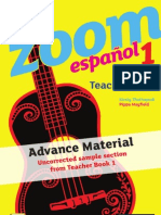 KS3 Zoom español Teacher Book 1 sample