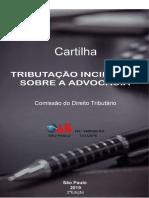 Cartilha - Tributacao Incidente Sobre a Advocacia