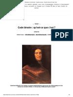 Définition _ Code binaire - Système binaire - Nombre binaire _ Futura Tech