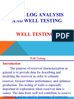 Lectures on Well Testing 1A