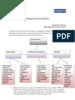 Financial services Sector_Kritika