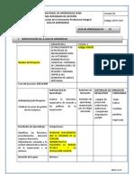 GUIA   DE APRENDIZAJE COMPETENCIA PRODUCIR  LOS DOCUMENTOS