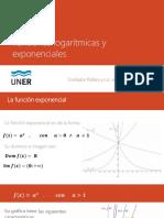 Función logarítmica y exponencial - Valor absoluto