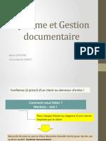 Système Et Gestion Documentaire COMPLET