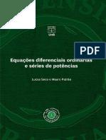 Equações Diferenciais Ordinárias e Séries de Potência