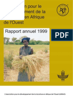 AfricaRice Rapport annuel 1999