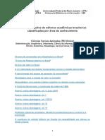 E-books Gratuitos de Editoras Acadêmicas - Ciências Sociais Aplicadas