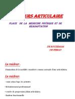 TD 2- Rhumatologie - Raideur Articulaire