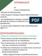 7- Rhumatologie - Ostéomalacie