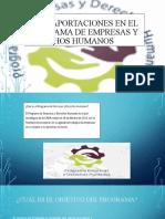 CNDH APORTACIONES EN EL PROGRAMA DE EMPRESAS (2)