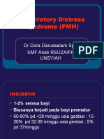 Respiratory Distress Syndrome (PMH)
