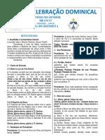 FOLHETO 10 DE JANEIRO - 2021 - BATISMO DO SENHOR