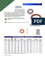 ÍTEM 4.- D-01 MODEL 7041 FLANGE ADAPTER-ANSI CLASS 125150