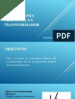 Presentación Protecciones Propias de Un Transformador