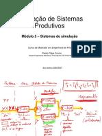 SSP_M5 Sistemas de Simulação 2021.01.17