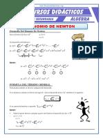 Binomio de Newton Con Exponente Natural Para Quinto de Secundaria (1)
