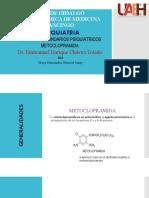 METOCLOPRAMIDA EFECTOS PSIQUIATRICOS