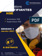 FORMATION HSE-CERTINORMES
