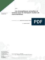 Doc ref_Filières énergétiques actuelles et futures pour le transport routier de marchandises