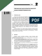Bab 2 - Sistem Inovasi
