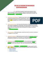 Définitions TEC Chapitre 1 Et 2