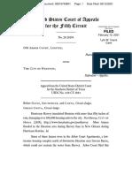 DM Arbor Court, Ltd. v. City of Houston, No. 20-20194 (5th Cir. Deb. 12, 2021)