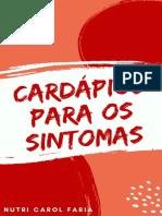 E book Cardápios para os sintomas - Presente (2)