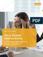 More Stress Interventions