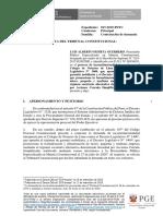 Contestación de Demanda Exp. 17-2019-PI-TC