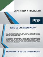 Inventario y Productos