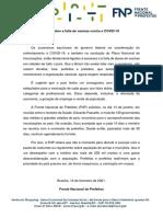 Nota - FNP - 16/02/2021