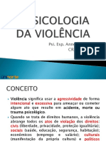 A Psicologia Da Violência