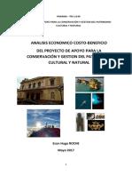 ACB del Programa Panama_Patrimonio Cultural