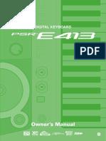 Documents.pub Yamaha Psr e413 Manual Eng