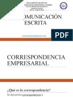 COMUNICACIÓN ESCRITA - PARTE II